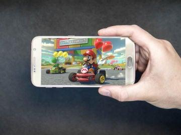 Ejemplo de Mario Kart Tour