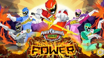 Juega al Dino Charge de Power Rangers