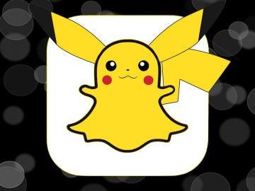 Snapchat de Pikachu