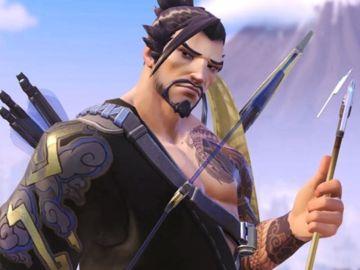 Hanzo, héroe de Overwatch