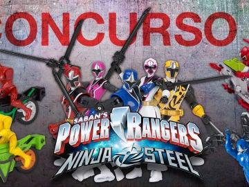 Gana un pack con las figuras de acción de Power Rangers