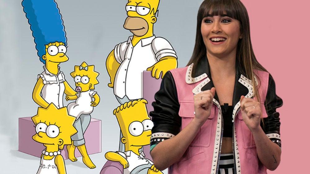 Los Simpson también predijeron la chaqueta con la que Aitana ha triunfado en 'El Hormiguero 3.0'