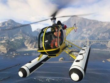 Helicóptero de GTA V