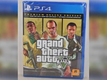Supuesta carátula de GTA V Premium Online Edition
