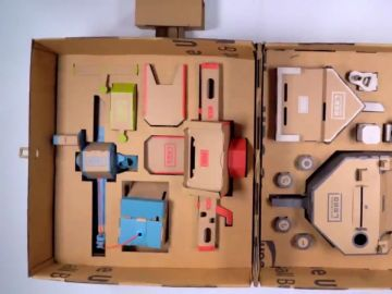 La maleta de UPS para Nintendo Labo