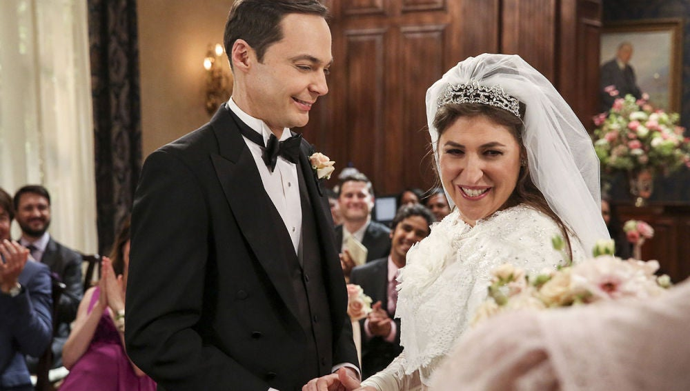 Boda de Sheldon y Amy