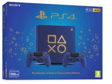 Edición limitada PlayStation 4 Days of Play