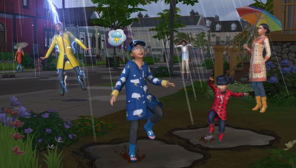 Los Sims 4: Las Cuatro Estaciones