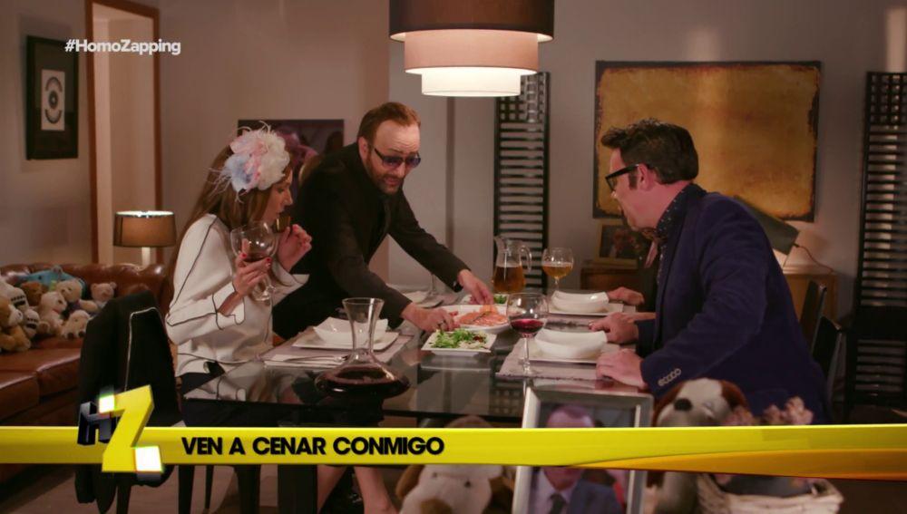 Risto prepara cena para Tamara Falcó, Mario Vaquerizo y Joaquín Reyes