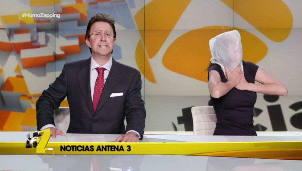 Mónica Carrillo no aguanta los chistes de Matías Prats