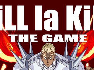 Kill la Kill The Game Poster Oficial