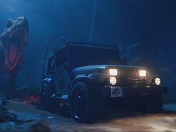 Jurassic Park en Rocket League