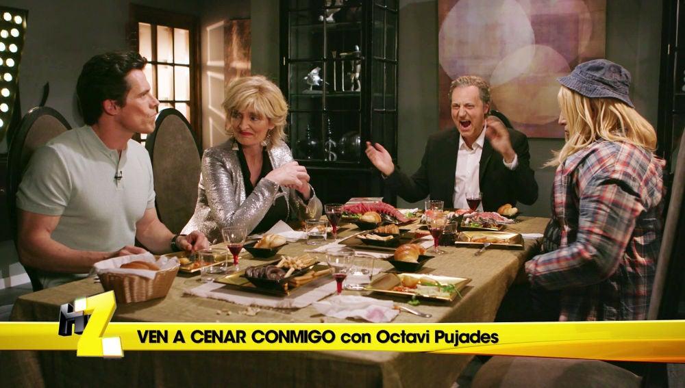 Pedrerol expulsa de 'Ven a cenar conmigo' a Mercedes Milá, Octavi Pujades y Soy una pringada