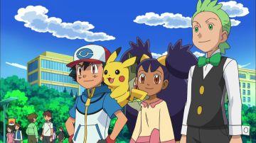 Pokémon - Temporada 14 - Capítulo 40: ¡Millo contra Trip, Ash contra Georgia!
