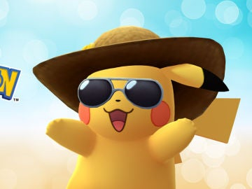 Pikachu en el 2º de Pokémon GO