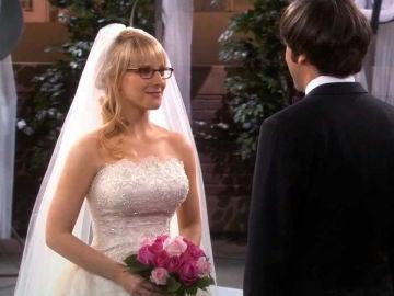 Boda de Howard y Bernadette