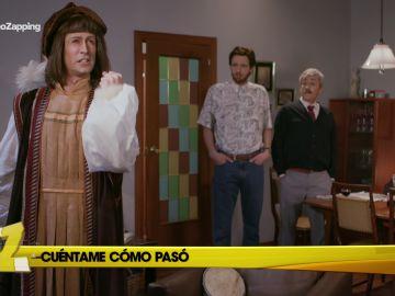 Cristóbal Colón se cuela en 'Cuéntame cómo pasó'
