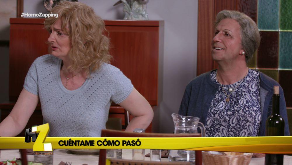 La madre de Merche se ha enamorado de Carlitos