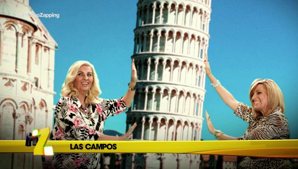 Terelu quiere darle un bocado a la Torre de Pisa