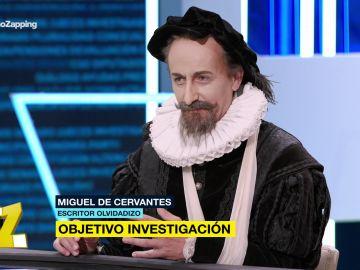Ana Pastor entrevista a Cervantes en 'El Objetivo'