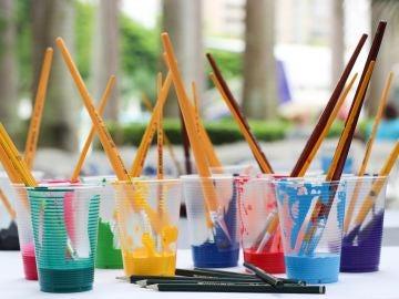 Pintura y pinceles