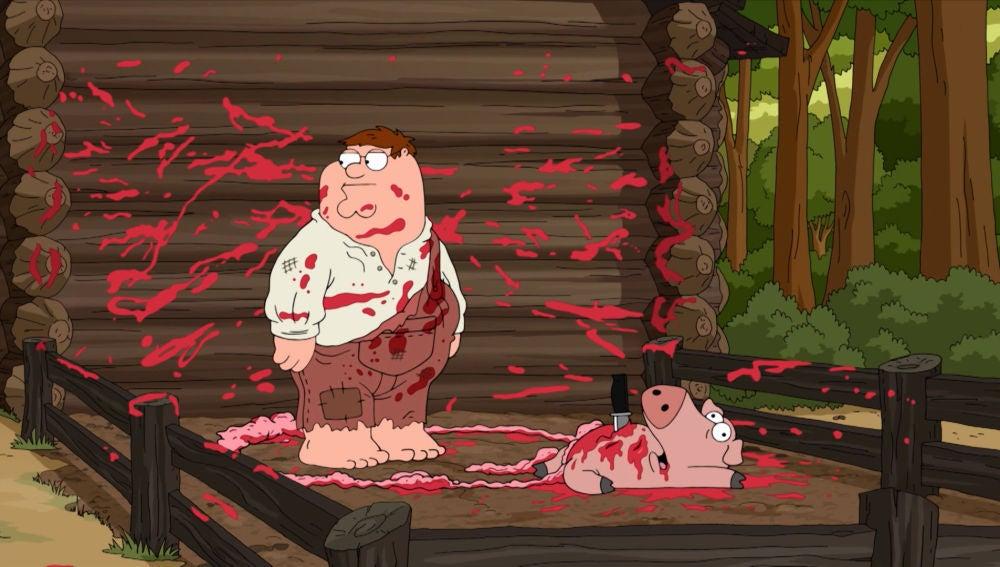 """Peter después de matar a un cerdo: """"¿Para qué quería yo la sangre?"""""""