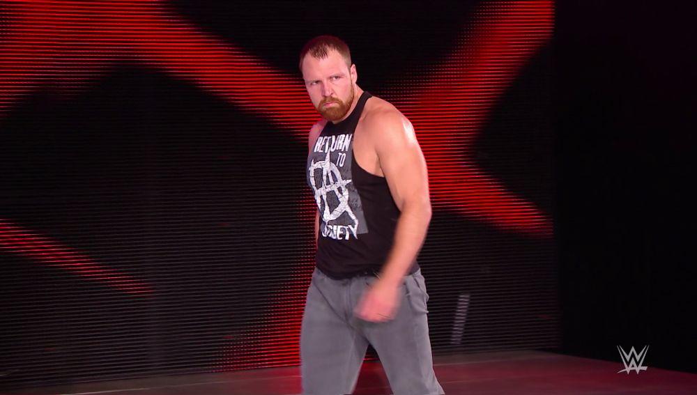 Dean Ambrose regresa a Raw antes de Summerslam