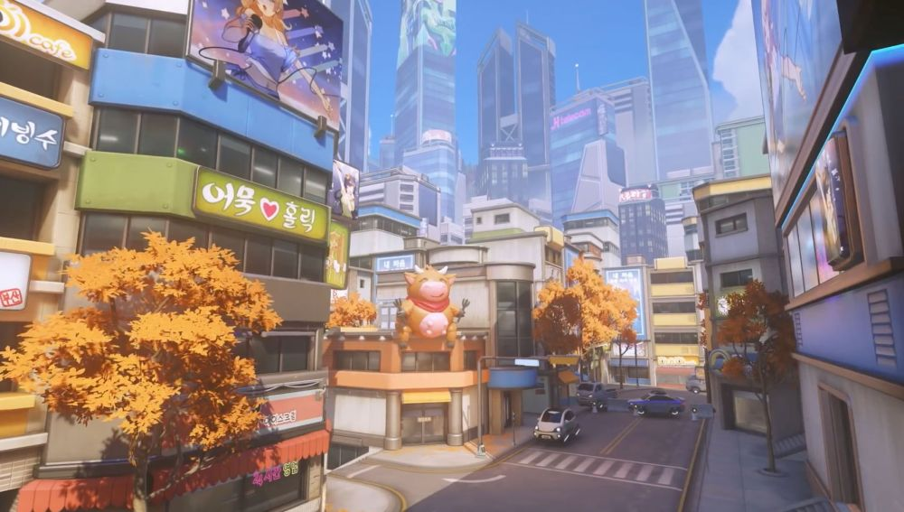 Nueva mapa para Overwatch, Busan