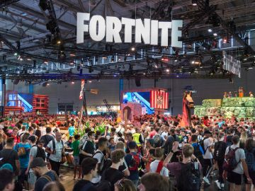Fortnite en Gamescom 2018