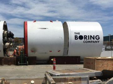 Excavadora de The Boring Company