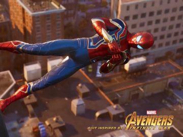 Traje de Spiderman en Avengers: Infinity War