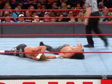 Seth Rollins y Dolph Ziggler