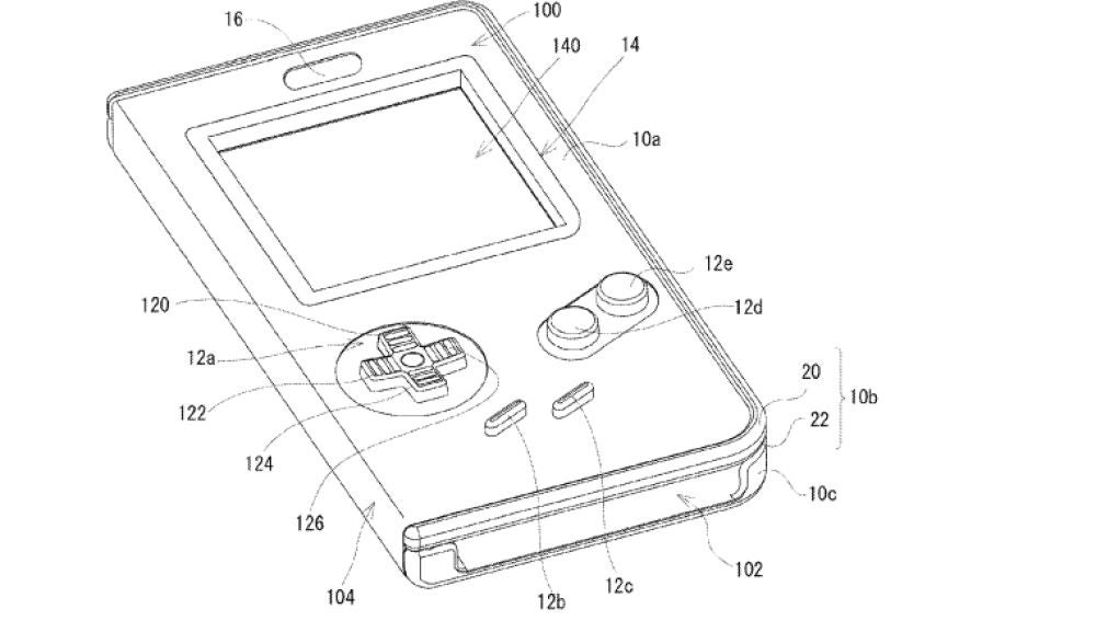 Patente carcasa Game Boy