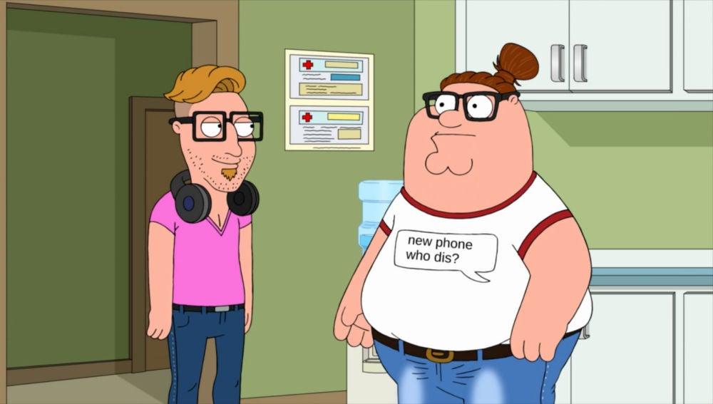 Peter se convierte en milenial