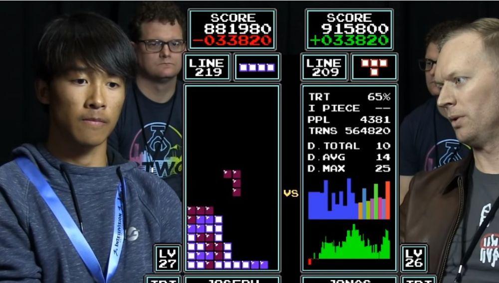Final del Campeonato del Mundo de Tetris