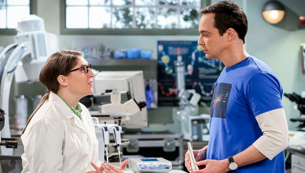 Amy y Sheldon