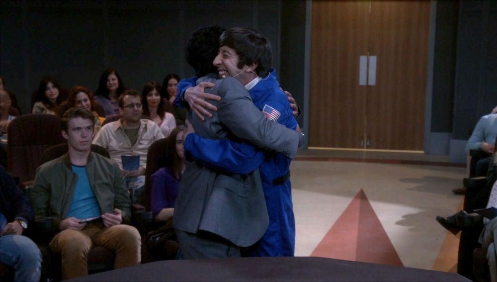 Raj y Howard