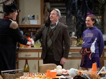Matthew Broderick visita a 'Los Conner' por Halloween