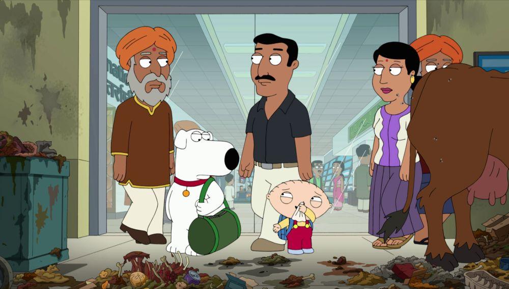 Brian y Stewie se van a la India