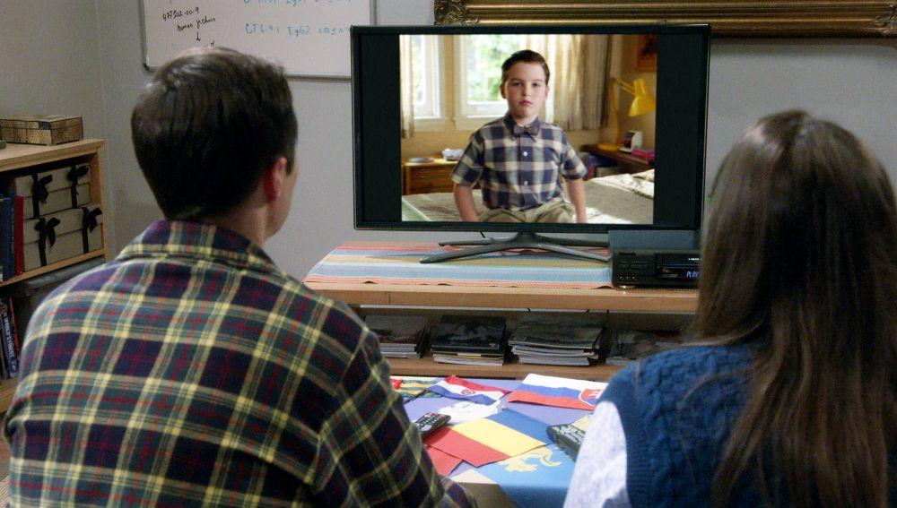 El mensaje del joven Sheldon para el Sheldon del presente