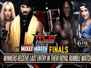 Se añade la final del Mixed Match Challenge a WWE TLC