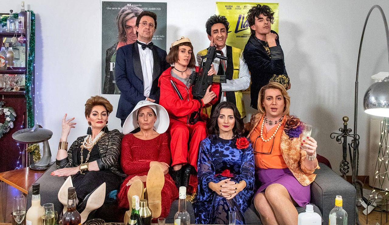 El elenco de Feliz Año Neox