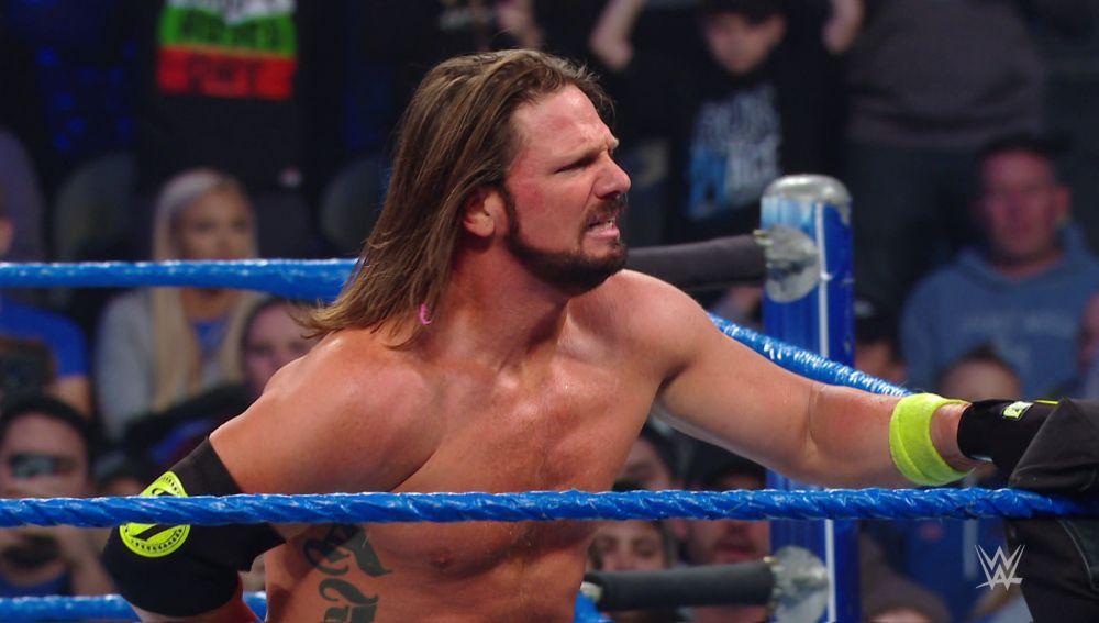 AJ Styles derrotó a Randy Orton, Rey Mysterio, Mustafa Ali y Samoa Joe, y es el aspirante al WWE Championship