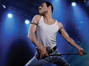 Rami Malek como Freddie Mercury en 'Bohemian Rhapsody'