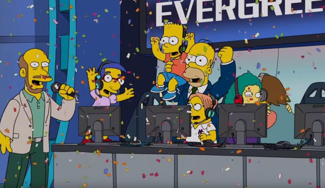 Los Simpson en los eSports