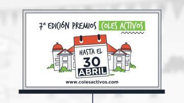 Participa en los Premios Coles Activos antes del 30 de abril