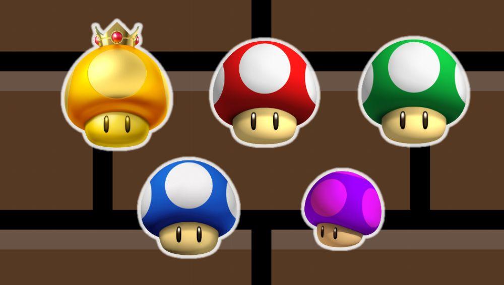 Super Mario Champiñones
