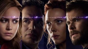 Los Vengadores supervivientes en 'Endgame'