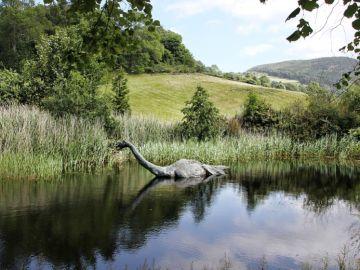 Recreación de un plesiosaurio