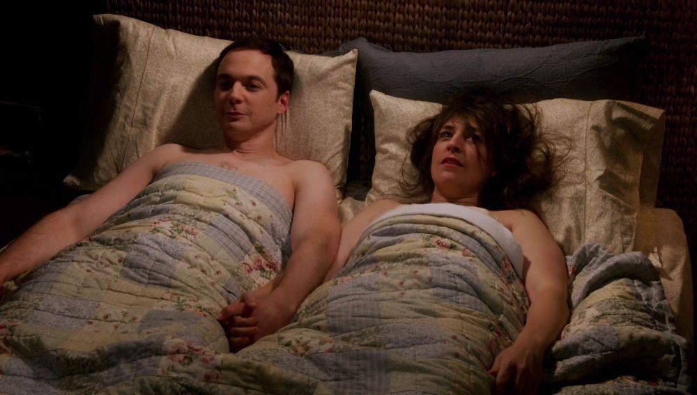 El momento inolvidable de Sheldon y Amy teniendo sexo